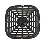 Bigbiglife Air Fryer Rack,Square Grill Plate Crisper Plate Non-Stick Coating Air Fryer Rack for Make French Frie,Pizza,Chicken Wing