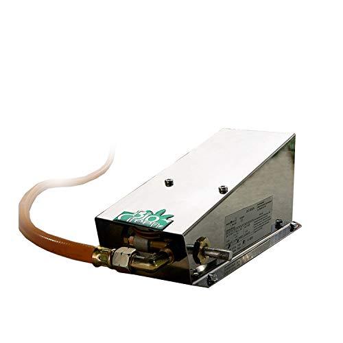 Biogreen Mi 800/GB 800W Frostbuster Mini-Heizer für Gewächshaus, Edelstahl