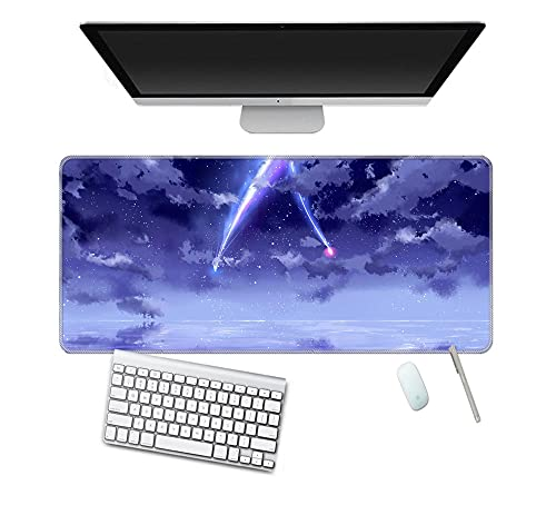 Alfombrilla de ratón de anime Phoenix y Dragon Gaming Mouse Pad Alfombrilla de ratón para suministros de oficina dibujos animados 800x300 (mm)