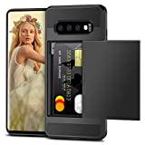 Vunake Case for Galaxy S10 Plus Case Card Slot Armor