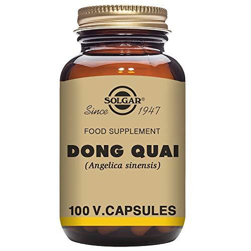 Solgar Dong Quai Cápsulas vegetales - Envase de 100