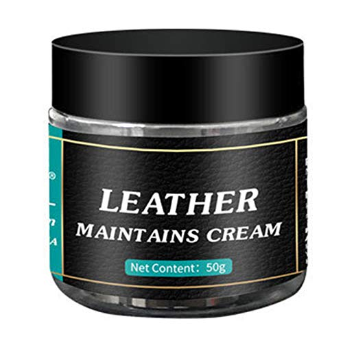 BULABULA 1/3/6 unidades de reparación de piel en crema pulidora para restaurar el brillo de la humedad para productos de cuero, bolsas de zapatos para el asiento del coche.