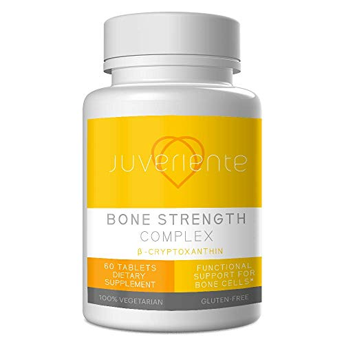 Juveriente Japanese Bone Strengthening Supplement - Address The Root Cause from The Cellular Level/Mitigate The Bone Resorption and Enhance The Osteogenesis (60 Tablets for 30 Days)