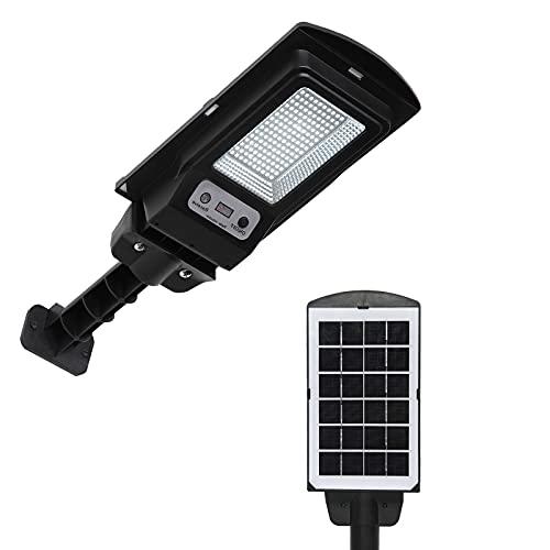 60W Solar Street Light Sensor Integrated Solar Light, Light Control, 130 lamp Beads, Suitable for Front Door, Yard, Corridor, Wall Hanging, Garden, Garage, Terrace,