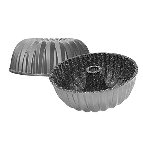 STONELINE® Gugelhupf Backform, 24,5 cm, Aluguss, Antihaftbeschichtung mit echten Steinpartikeln, Kuchenform