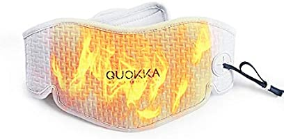 Quokka USB Cord Graphene Heated Neck Wrap with Adjustable Time & 3 Heating Levels, Far-Infrared Therapy for Neck Pain...
