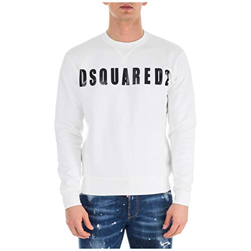 DSQUARED2 Herren Sweatshirt - Bianco L