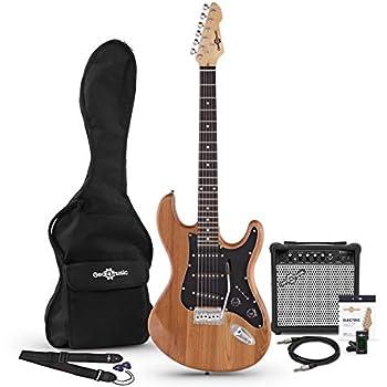 Set de Guitarra Electrica LA Select SSS + Amplificador Natural ...