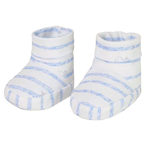maximo Babyschuhe blau/weiß 3-6 Mon.