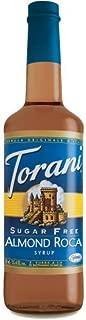 torani sugar free almond roca syrup