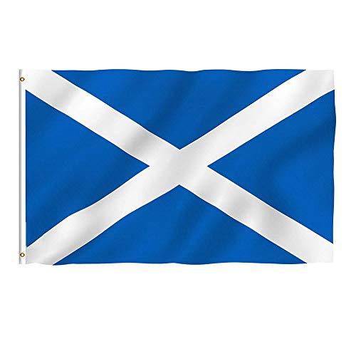 Sungpunet Grand drapeau de l'Écosse de 1,5 m x 91 cm, de qualité supérieure, pour supporter de l'Écosse, 1,5 m x 91 cm, St Andrews, ustensiles de cuisine et accessoires