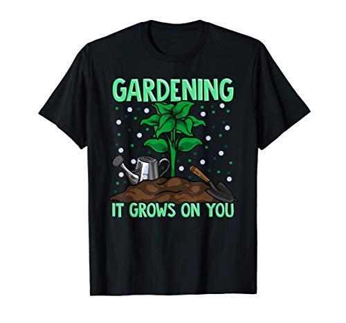 Un jeu de mots sur le jardinage pousse sur votre blague du j T-Shirt
