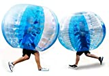 BAOSHISHAN bola de parachoques inflable Fútbol Zorb Bola Humano Burbuja Balón de fútbol Diversión al aire libre Juguete Bola de colisión diámetro 1.5 m