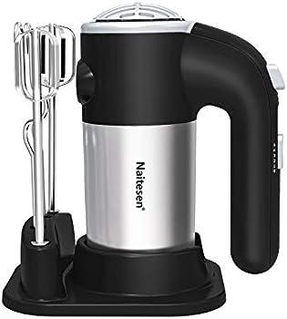 Naitesen Electric Hand Mixer Lightweight Handheld Mixer