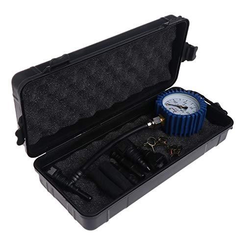 TANGIST Motocicleta Coche Combustible Medidor de presión Coche Gasolina Medidor de medidor Tester Tool # 0616