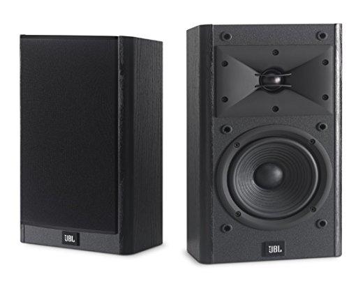 JBL Arena B15 Black Bookshelf & Surround Speaker with Special Edition Grilles & Logo Set of 2 Black