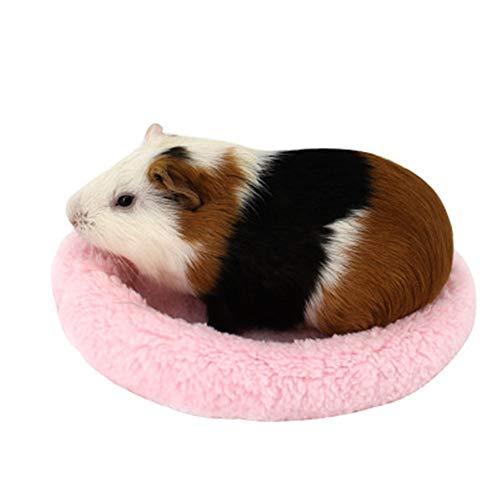 QiHaoHeji Casa de hámster Hábitats Camas pequeñas jerarquía del Animal doméstico del hámster Accesorios Jaula Caliente Hamsters Conejos Ratas Ratas (Color : Azul, Size : S)
