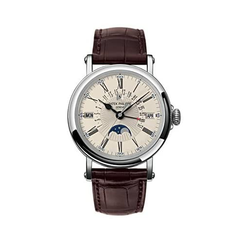 Patek Philippe Perpetual Calendar with Retrograde Watch in 18K White Gold - 5159G-001