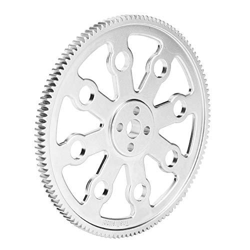 1PC 120 Zähne Rundloch-Zahnrad Innendurchmesser 8 mm Zinklegierung Industrieroboter-Zahnrad