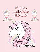 Libro de actividades Unicornio para niños