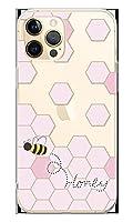 スマホケース カバー ハニー クリア ピンク ソフトケース [対応機種:iPhone12 ProMax 6.7 ]