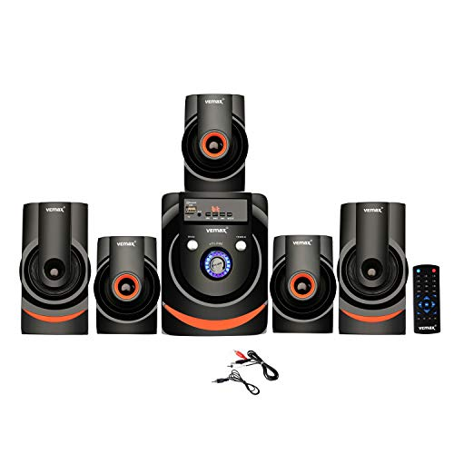 Vemax Action 5.1 Bluetooth Multimedia Home Theater System with FM, Pen Drive, Sd Card, Mobile Aux