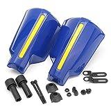 Guardamanos de Motocicleta 2X Universal Motorcycle Mano Guardia Manija Protector Shield Motorbike Motocross Scooter Handillar a Prueba de Viento Protección (Color : Blue)