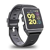 【2019 Aggiornato】Smartwatch GPS Orologio Fitness Uomo Donna Impermeabile IP68 Smart Watch...