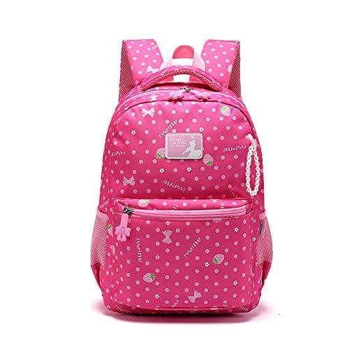 FANDARE Kinderrugzak voor meisjes, schoolrugzak voor kinderen, schooltas voor school, outdoor, reizen, dagrugzak met…