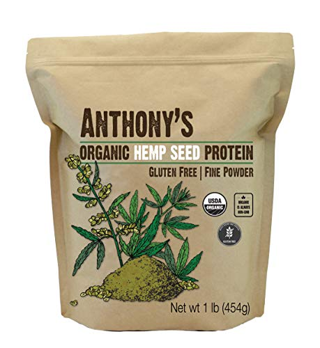 Anthony's Organic Hemp Seed Protein