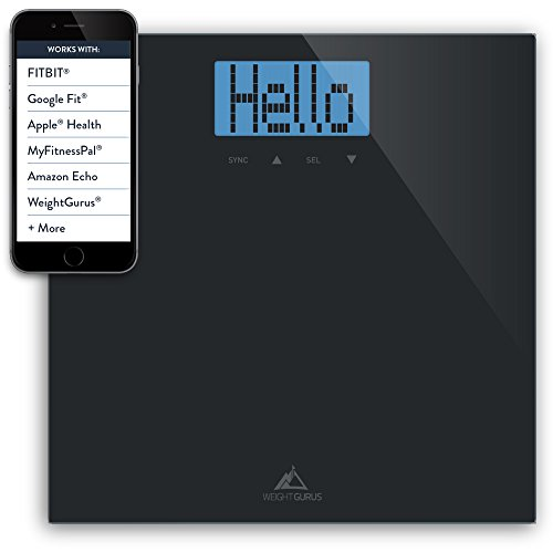 Read About Weight Gurus Digital Bathroom Scale (Black)