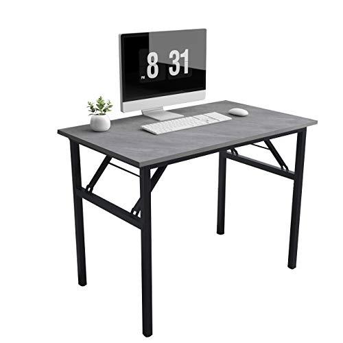 Need Mesa Plegable 100x60cm Mesa de Ordenador Escritorio de Oficina Mesa de Estudio Puesto de Trabajo Mesas AC5LB-100