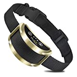 PETJOY Shock Collar for Dog, Bark Obedience Training, Stop Nuisance Barking, Fit Small to Large Sized Dogs, 7 Levels of Progressive Training & 5 Adjustable Sensitivity, No Remote Required (Silver)