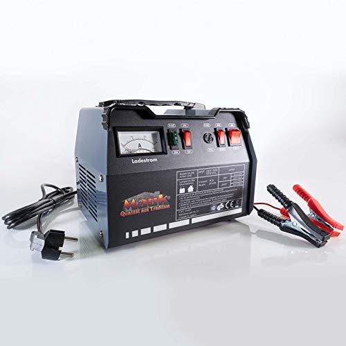 Mauk KFZ Batterieladegerät | Akku Batterie Werkstatt Ladegerät 12/24V 225Ah | PKW LKW Boot