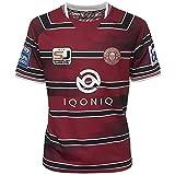 RENDONG 2021 Ligue Britannique Guerriers Wigan Maillot De Rugby S-5XL,2021 League,Medium