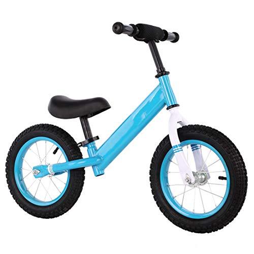 QHY 12 Zoll Kinder Laufrad Säugling Gehhilfe Fahrrad Reiten Auf Spielzeuge 2 Räder Geschenk Zum 2-6 Jahre Alt...