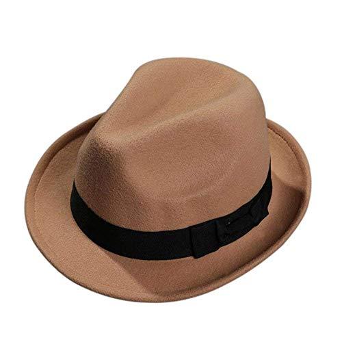 None Lannister Fashion Unisex Jazzhut Hlte Halten Hut Panaman Geschenke Für Frauen Damen Herren Mode Strand Kappe Handgewebter Sonnenhut Blau 57Cm (Color : Beige, Size : One Size)