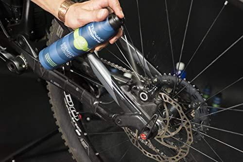 TUNAP SPORTS Bremsenreiniger Spray | Fahrrad Bremsen reinigen | Entfernt Verschmutzungen, zugunsten der Bremsleistung (300ml) - 3
