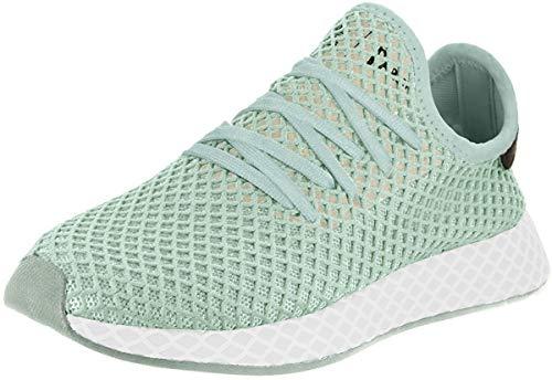 adidas Womens Deerupt Runner Running Casual Shoes, White, 10