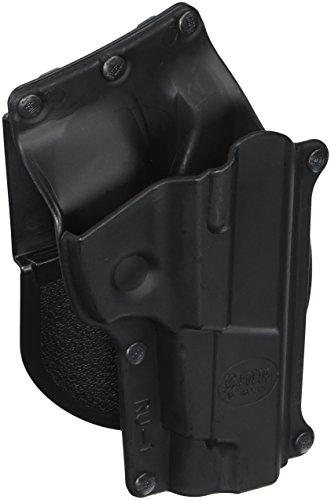Fobus Standard Holster RH Paddle RU1 Ruger P85P/89 Lg. Auto 9mm/.40 cal , Black