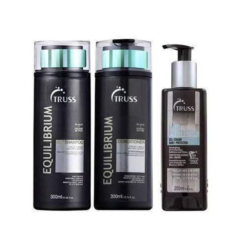 Truss Equilibrium Sh 300ml + Cd 300ml + Hair Protector 250ml