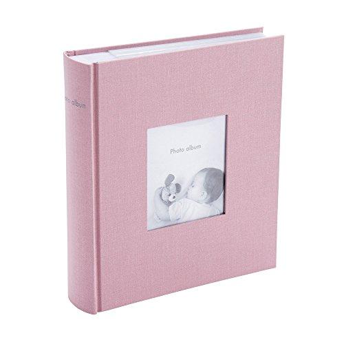 マークス ポストカードサイズ 200枚収納可 フォトフレームアルバム グレイッシュピンク CG-AL11-PGY