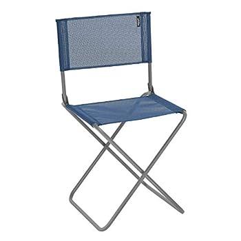 KingCamp Camping sur la Plage de Fronde Bas Chaise Pliante de Concert Bas et Haut Dossier en Maille Deux Versions