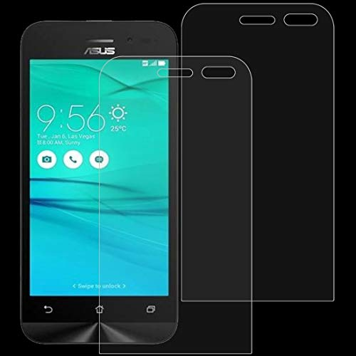 JIXIAO Accesorios for Boutique 2 PC 0.26 mm 9H 2.5D Película de Vidrio Templado for ASUS ZenFone Go / ZB452KG