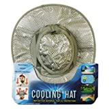Yejante - Cooling Hat with UV Protection - Sun Hat for Men & Women - Perfect for Fishing, Hiking, Camping, Gardening, Beach, etc - Grey Color