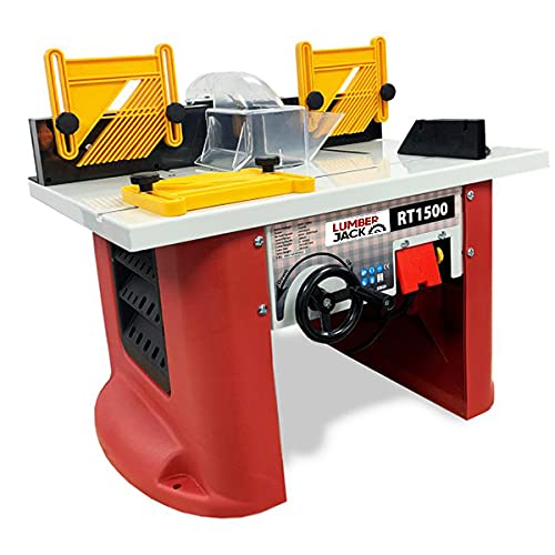 Lumberjack Tools RT1500 1500W Bench Top Router Table, Multi