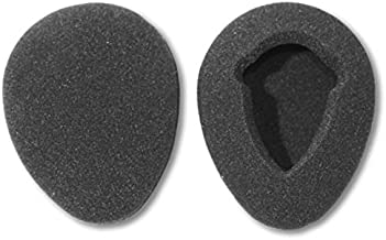 One Pair of 80mm Foam Earpads fits Infrared Wireless Headphones in Many Automobile Entertainment DVD Player Systems