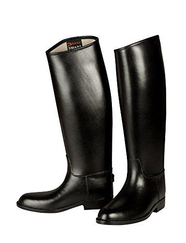 PFIFF Damen Kunstleder-Reitstiefel M 401, schwarz 29, Black