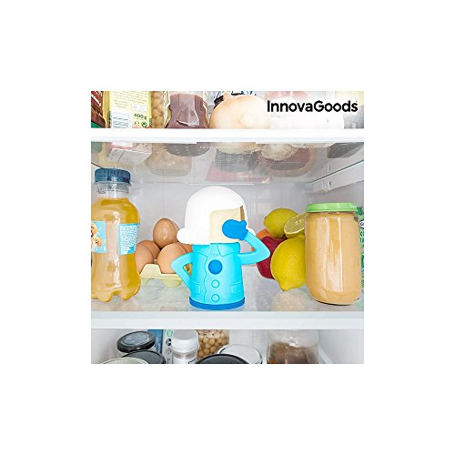 InnovaGoods Desodorizante para Neveras, Azul, 14x12x9 cm