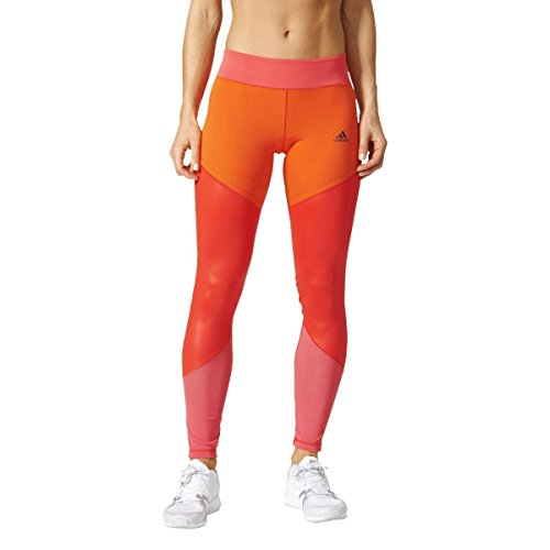 adidas Damen Wow Drop 1 Tigh Leggings, Rot (Rojbas/Rosbas), M